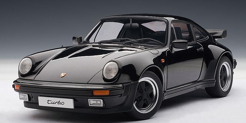porsche 911 3 3 turbo 1986 die cast model autoart 77981. Black Bedroom Furniture Sets. Home Design Ideas