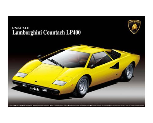 lamborghini countach lp400 aoshima 04670. Black Bedroom Furniture Sets. Home Design Ideas