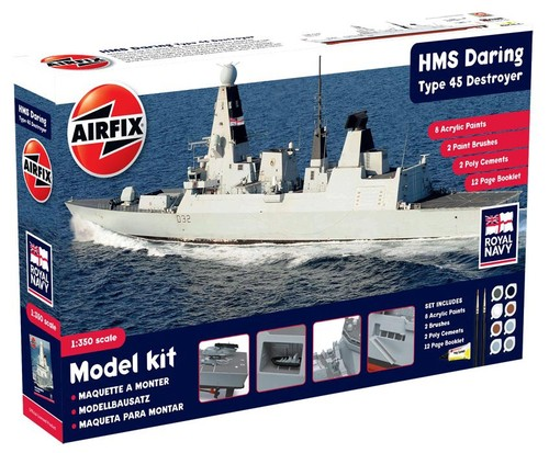 HMS Daring Type 45 Destroyer Gift Set - Image 1