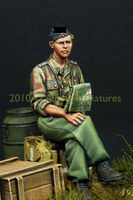 German Panzer Officer in Summer
