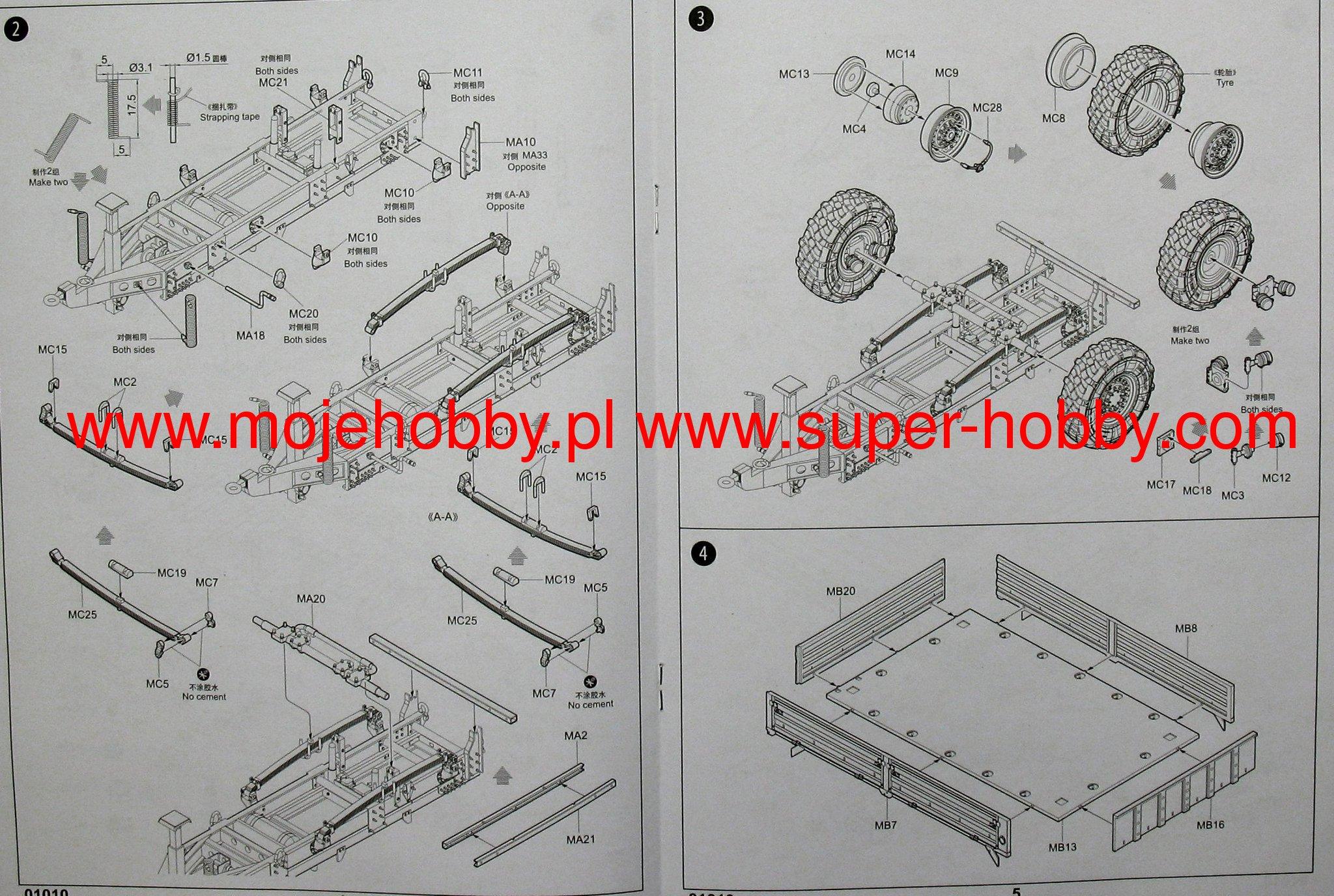 6397_2_tru01010_3 m1082 lmtv trailer trumpeter 01010 lmtv wiring diagram at downloadfilm.co