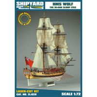 HMS WOLF The 10-Gun Sloop 1752