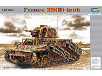 France 39(H) TANK SA 38 37mm gun - Image 1
