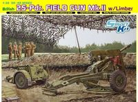 British 25pdr Field Gun Mk.II with Limber