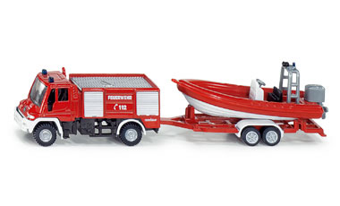 Unimog Fire Engine with Boat - Image 1