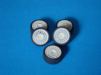 Lancia wheels (5 resin wheels + 5 tyres) - Image 1