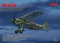 Fiat CR.42 LW WWII German Luftwaffe Ground Attack Aircraft - Image 1