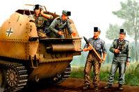 MASTER BOX™ 35208 WWII German StuG III Crew Figuren in 1:35