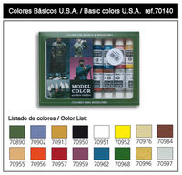 70140 Model Color - Basic Color USA Set