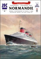 Francuski supertransatlantyk NORMANDIE