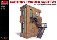 Factory corner with steps