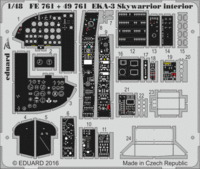 EKA-3 Skywarrior interior TRUMPETER 02872 - Image 1