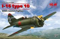 I-16 type 10, WWII Soviet Fighter - Image 1