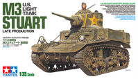 US Light Tank M3 Stuart - Late Production