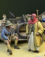 WWI Anzac soldier & Arab Warrior 1915-18