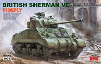 "BRITISH SHERMAN VC ""VELIKIYE LUKI"" W/ WORKABLE TRACK LINKS - Image 1"