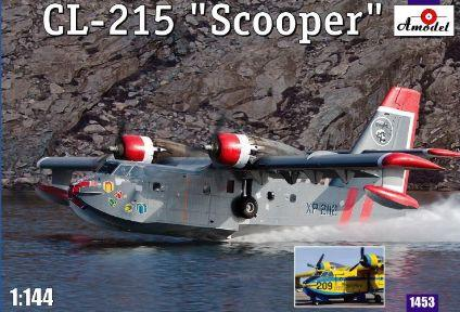 Canadair CL-215 Scooper amphibious aircraft - Image 1