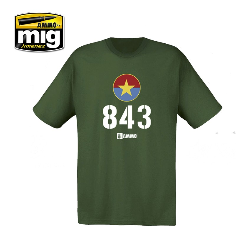 AMMO 843 VIETNAMESE T-54 T-SHIRT Size S - Image 1