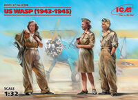 US WASP (1943-1945) - 3 figures