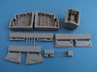 EE Canberra Wheel bay for Airfix