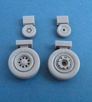 Mirage 2000 wheels for all kits