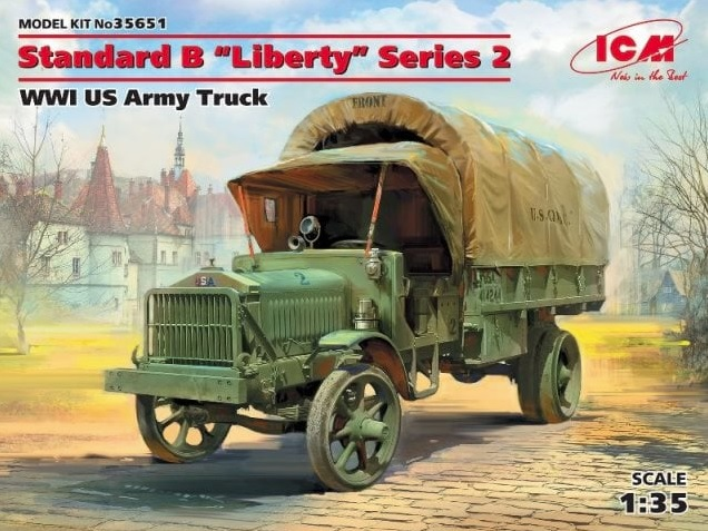 Standard B Liberty Series 2 WWI US Army Truck - Image 1