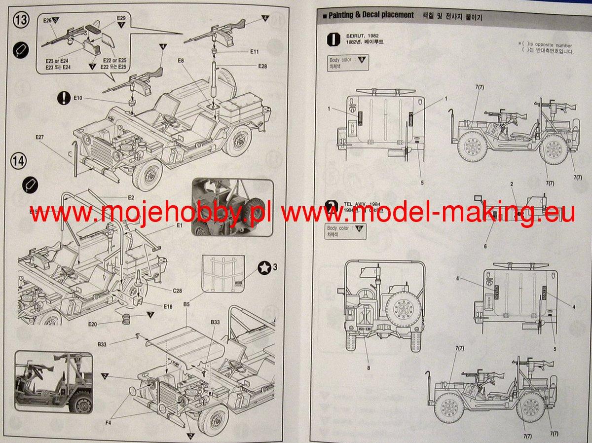 M151a1 Shimira Idf Academy 13004 Wiring Diagram 2 Aca13004