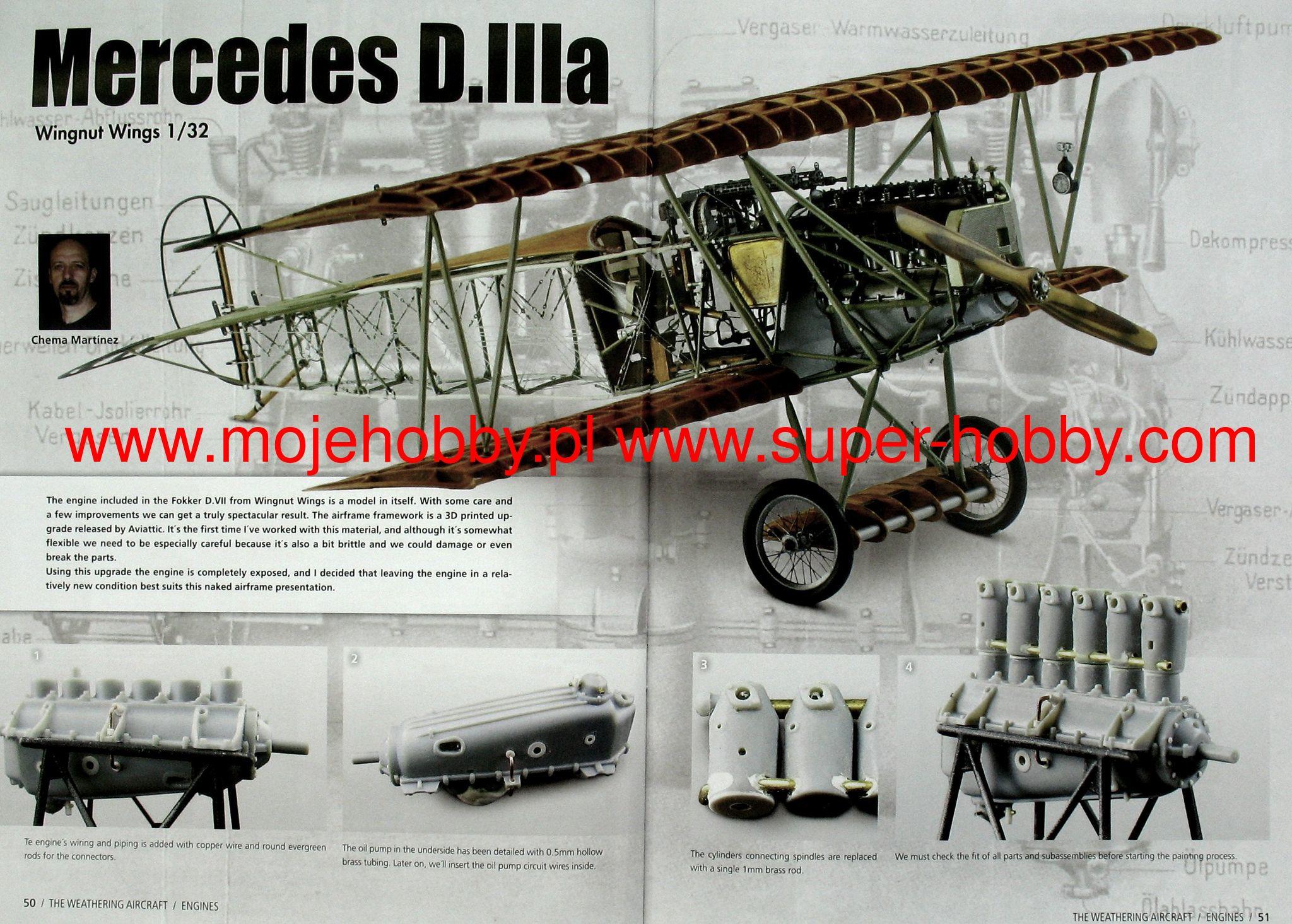 The Weathering Magazine Aircraft Issue 3 Engines AMMO of Mig Jimenez ...