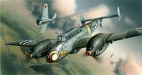 Bf 110E German WWII Heavy Fighter - Image 1