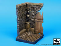 Corner with wooden gate (50x50 mm) - Image 1