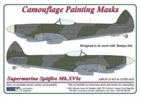 Camouflage painting masks Spitfire Mk.XVIe