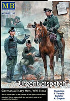 """Urgent dispatch"" German Military Men WWII"
