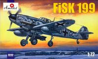 Messeschmitt FiSK-199 WWII German figther