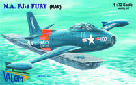 North American FJ-1 Fury (NAR) First operational jet aircraft in US Navy service