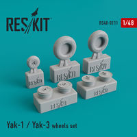 Yak-1 / Yak-3 wheels set - Image 1