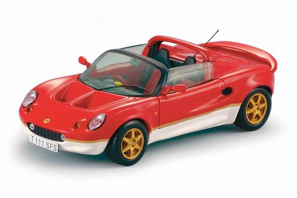 Lotus Elise Mki Type 49 Red Die Cast Model Sun Star 1037