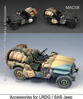 Accessories for LRDG/SAS Jeep - Image 1