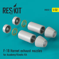 F-18 Hornet exhaust nozzles for Academy/Kinetic Kit - Image 1