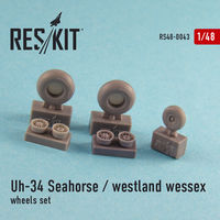Uh-34 Seahorse / Westland Wessex  (all versions) wheels set - Image 1