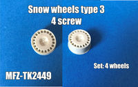 Snow wheels type 3, 4 screw - Image 1