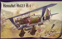 German light bomber Henschel HS-123 A-1 - Image 1