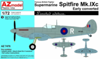 Spitfire Mk.IXc Early converted