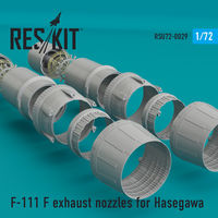 F-111 F exhaust nozzles for Hasegawa KIT - Image 1