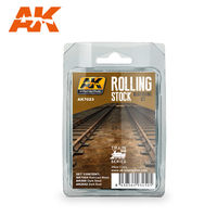 ROLLING STOCK WEATHERING SET TRAIN SERIES