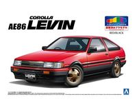 TOYOTA AE86 LEVIN 83 (RED/BLACK)