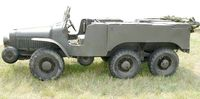 French WW2 Artillery tractor (6x6) W15T