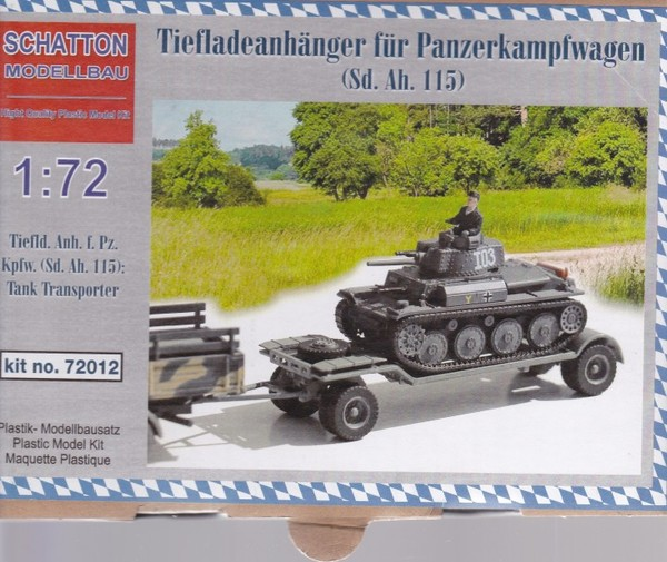 Tiefladeanhanger for PzKpfw (SdAh115) - Image 1