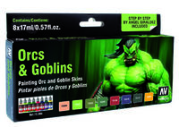 72304 Game Color - Orcs & Goblins Game Color Paint Set
