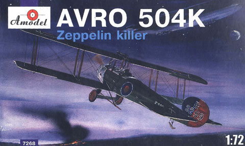 AVRO 504K Zeppelin Killer British IWW Aircraft - Image 1