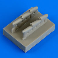 Hurricane Mk. I - late exhaust exhaust AIRFIX - Image 1